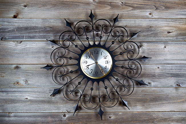 designer clock in australia